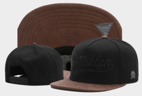 Hip Hop Men/'s CAYLER Sons Cap adjustable Baseball Snapback Street Black Hat 492#