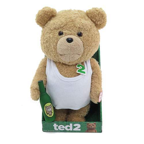 TED 2 TANK TOP -  16  MOUTH MOVING ANIMATED PLUSH EXPLICIT VERSION BRAND NEW