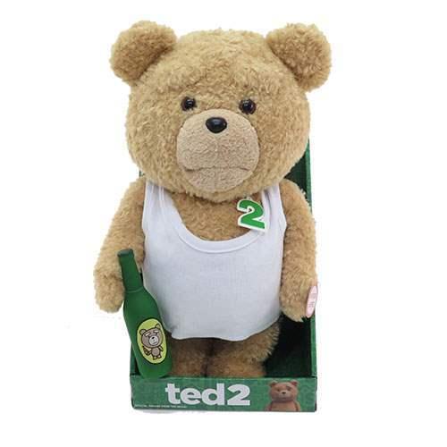 """TED 2 Tank Top 16 /""""bocca in movimento animato peluche versione esplicita NUOVO di zecca"""