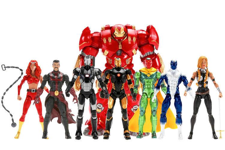 Marvel Legends Hulkbuster Full BAF Set