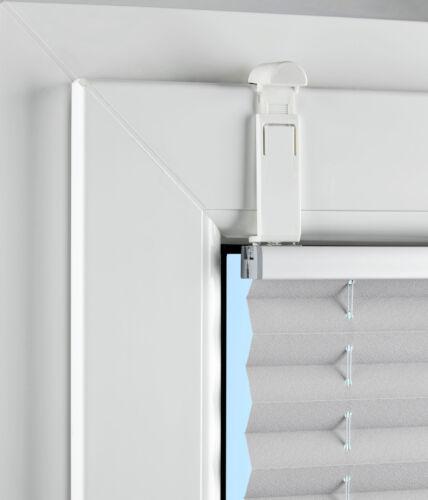 Plissé zubhör-de serrage support-glasleisten montage sans percer (4 pièces)