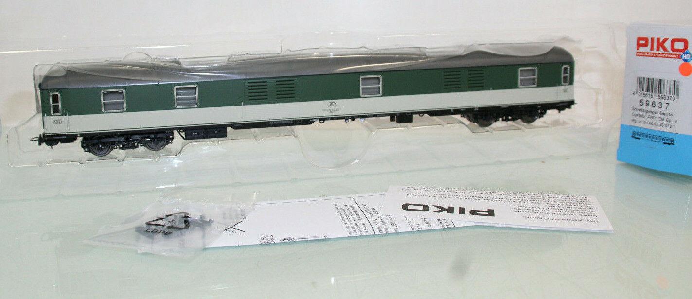 Piko 59637 Schnellzugpackwagen Düm902 grün//grau der DB Neu mit OVP