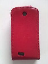 Tasche für Samsung S3650 Corby Schutz Hülle rot Flip Case