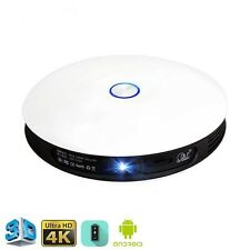 Smart Pro Portable 3D DLP Home Theater Projector Android 4K Full HD 1080P