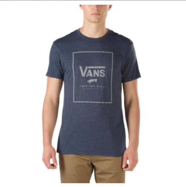 839f360d1f VANS OTW (print Box) Skate Tee T Shirt Navy Heather Blue Sz XXL 2xl ...