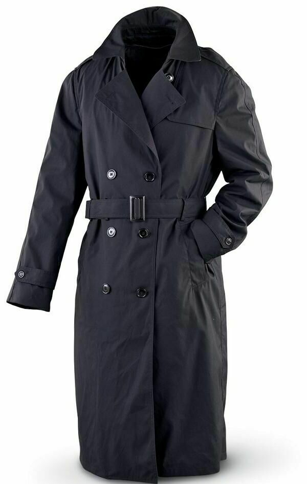 GI Woman's Army All Weather Trench Coat With Lining NWT