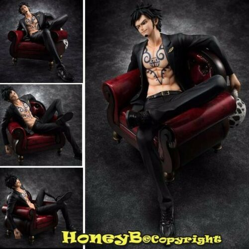 Character TRAFALGAR LAW Statue Figure Toy Japanese ONE PIECE P.O.P S,O,C Ver