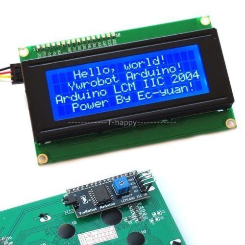 Serial IIC//I2C//TWI 2004 LCD Display Module F// Arduino MEGA2560 UNO R3 Breadboard
