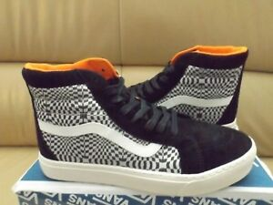 3f7c5c6268 Vans Sk8-Hi MTE Cup LX Men s Size 10.5 Shoes Suede Canvas Optical ...