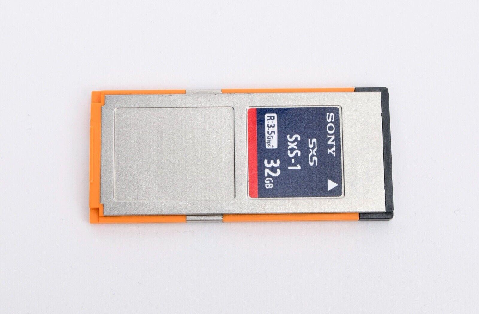 Sony 32GB SxS-1 SBS-32G1B SXS 440MB/s Memory Card