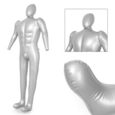 Male Man Whole Body With Arm Inflatable Mannequin Fashion Dummy Torso Model New