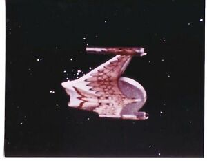 8-x-10-color-pic-STAR-TREK-Romulan-ship-special-FX-shot