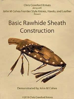 Basic Rawhide Sheath Construction (2 DVDs)/Sheaths