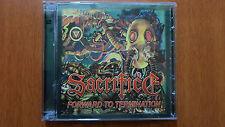 SACRIFICE - FORWARD TO TERMINATION Marquee version double cd 2013 repress RARE