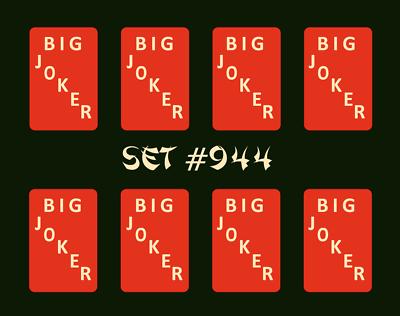 Set #066  ** Free Shipping ** Mah Jongg Jong Mahjong Joker Stickers Happiness