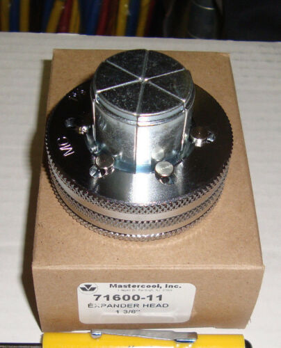 "Mastercool 71600-11 Hydra-Swage Expanding Head 1 3//8/"""