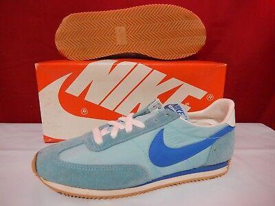 brand new 808ac af081 Vintage 1982 Nike Running Shoes size 6 Blue Korea Oceania Unworn HTF OG