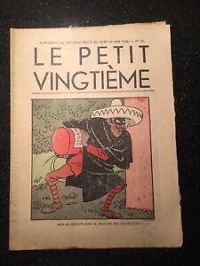 Tintin-Herge-Le-Petit-Vingtieme-du-25-juin-1936-N25-TTBE