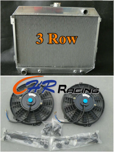 Aluminum Radiator /&FAN 68-74 Dodge Charger Challenger 70-74//68-72 Plymouth GTX
