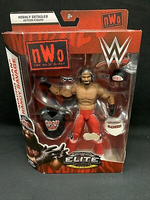 WWE Mattel Elite MACHO MAN RANDY SAVAGE Flashback WWF NIB Free Shipping