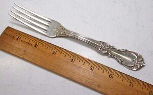 "Reed /& Barton Burgundy Sterling Silver Dinner Fork 7 1//4/"" No Mono"
