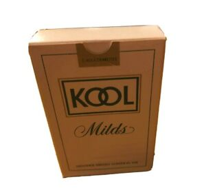 Vintage-KOOL-CIGARETTES-Milds-Playing-Cards-Menthol-Tobacco-Memorabilia-One
