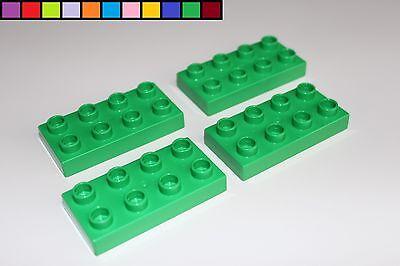 LEGO DUPLO 32er Bauplatte hellgrün 4x8 Noppen NEU