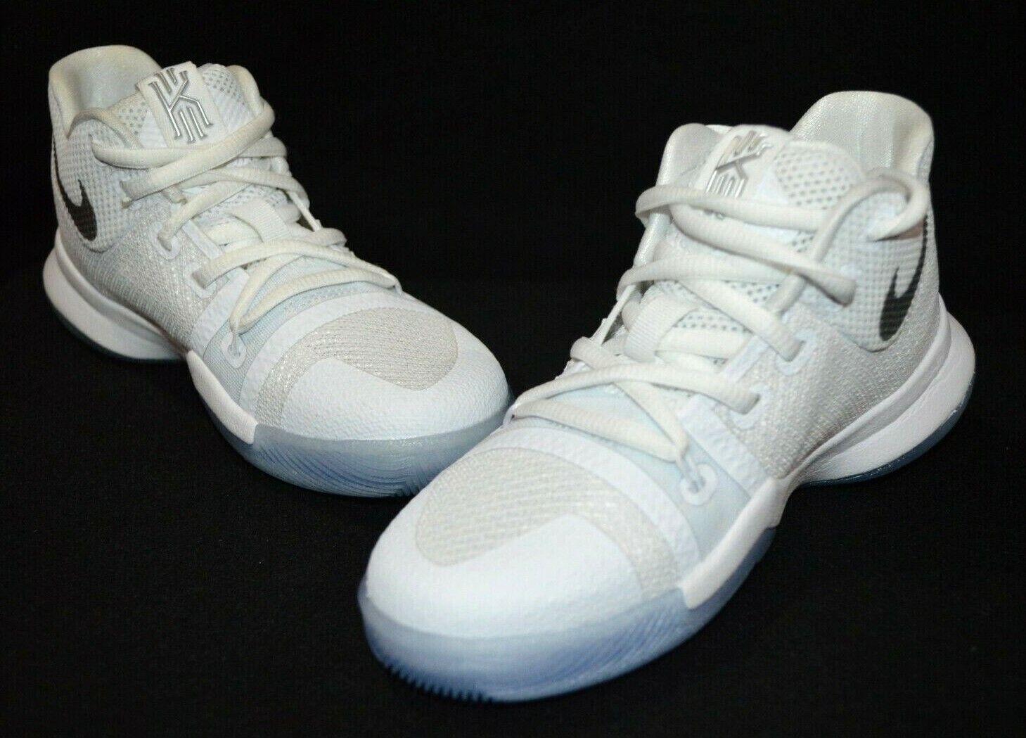 Nike Kyrie 3 (PS) White/Chrome Boy's