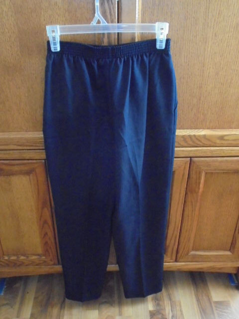 Briggs New York Women's Suit Pants Size 6 Petite Clothes Navy bluee NEW WITH TAGS