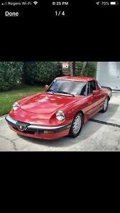 1986 Alfa Romeo Quattro Folie  18K Firm