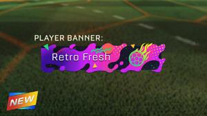 Xbox One Rocket League Retro Fresh Banner Ebay