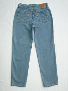 b65ef122656 Vtg Levi's High Waist Mom Jeans 512 Slim Fit Straight Leg Sz 14 Reg ...