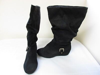 SO Women/'s Odetta Tall Casual Boots Black #209856 63OPQ by NEW