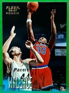 Ben Wallace rookie card 1996-97 Fleer #268