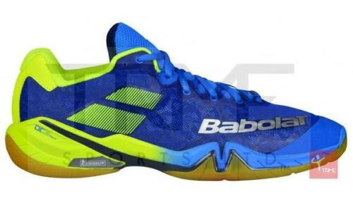 Babolat Shadow Tour Mens Badminton Shoes - Blue/Yellow