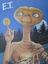 E. T. Extra-Terrestrial Vintage Original Poster 1980's McDonald's Large Mint WOW