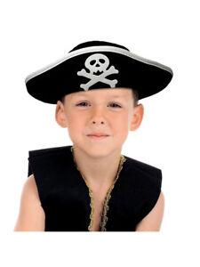 Hüte & Kopfbedeckungen Kinder Pirat Bandana Thomas mit Augenklappe Faschingshut Fasching Karneval