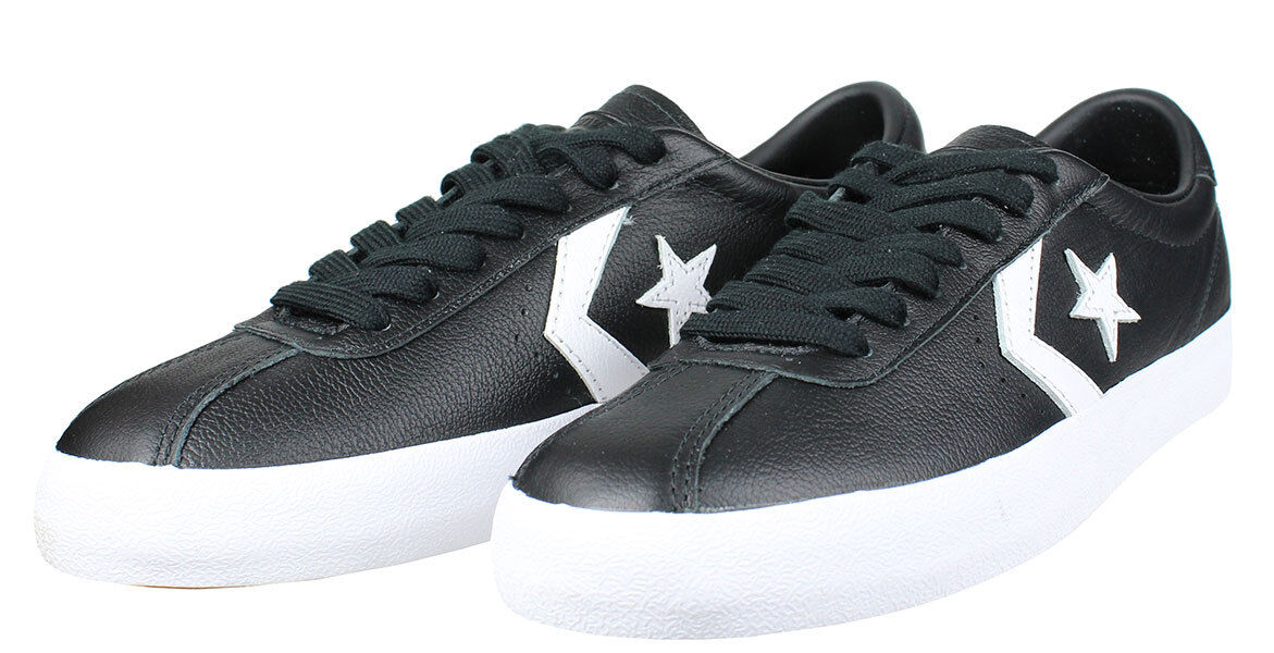 CONVERSE tutti estrella BREAK POINT OX LOW MEN sautope SMOKE bianca 157776C Dimensione 9 nuovo Sautope classeiche da uomo