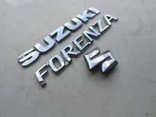 04-08 Suzuki Forenza Emblem 77811-85Z10 Logo 77821-85Z00 Ornament Decal Trim Set