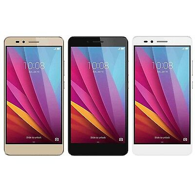 Huawei Honor 5X 16GB Unlocked GSM 4G LTE Octacore Android 13MP Smartphone - New