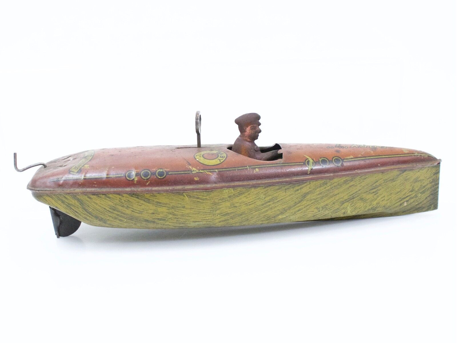 Lindstrom bebis L Windup Speed Boat 11  65533; Dröjd