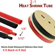 14 Heat Shrink Tubing Kit Wire Cable Wrap Electrical Sleeving Tube Assortment