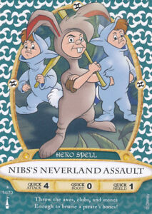 Sorcerer-of-the-Magic-Kingdom-card-14-Nib-039-s-Neverland-Assault