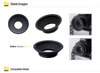 Gafas augenmuschel Nikon d5 d4 d3... d800 d810a d4s d500 d2 d810