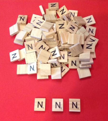Individual Scrabble Tiles Letters /& Symbols-High Quality Wooden Tiles Art sets