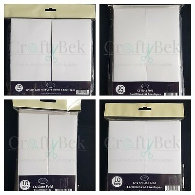"IVORY 8/"" X8/"" SCALLOPED POLKA DOT EMBOSSED FRONT BLANK CARDS /& ENVELOPES 10 PACK"