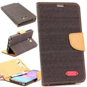 Urcover-Housse-de-protection-pour-telephone-portable-pour-Samsung-Galaxy-Note-5-Flip-Case-Cover