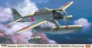 Hasegawa-1-48-Nakajima-A6M2-N-Type-2-Rufe-Seaplane-Aircraft-Model-Kit