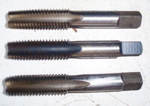 P/&N Osborn Hand Tap M20 x 2.5 RH Taper Inter Bottom //Plug 3pcs