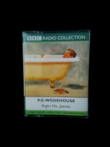 Audio Book BBC Radio Collection PG Woodhouse Right Ho, Jeeves 2 Cassettes VGC